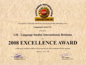 Excellence award for LSI Brisbane