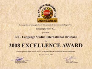 Excellence award for LSI Brisbane
