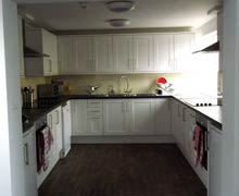 The Willows Residence main shared kitchen