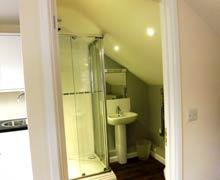 The Willows Residence studio bathroom