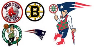 Boston Red Sox Boston Celtics Bruins Patriots