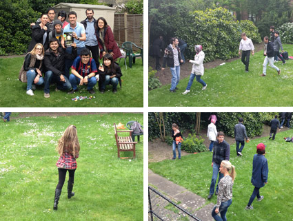 The Race for eggs at LSI London Hampstead