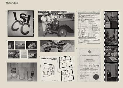 Brochure memorabilia page