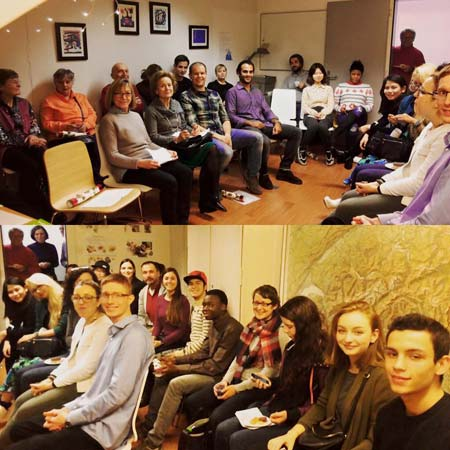 Uniting LSI Zurich's local student and International students at Xmas Story Night