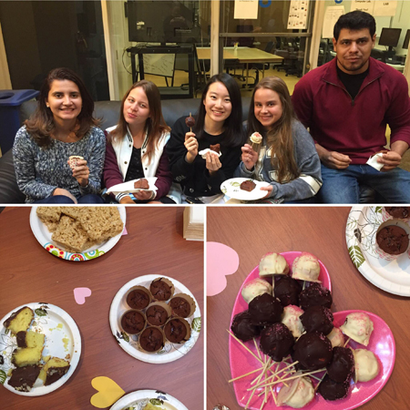 LSI Berkeley holds a Valentine's Day Charity Bake