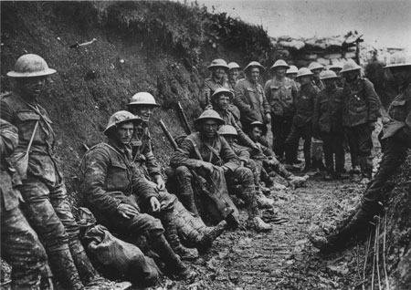 Soldiers in the trenches coined many modern English phrases