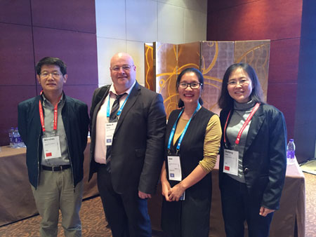 LSI Marketing in China - Sean and Jess meet agents