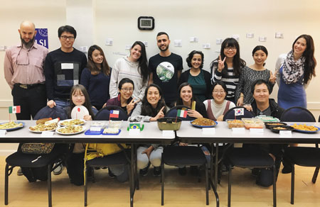 LSI Berkeley celebrates Thanksgiving with a Pot luck lunch
