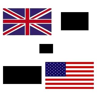 British English or American English