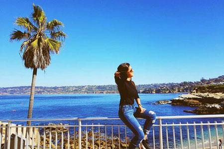 LSI San Diego student Marcela Santos
